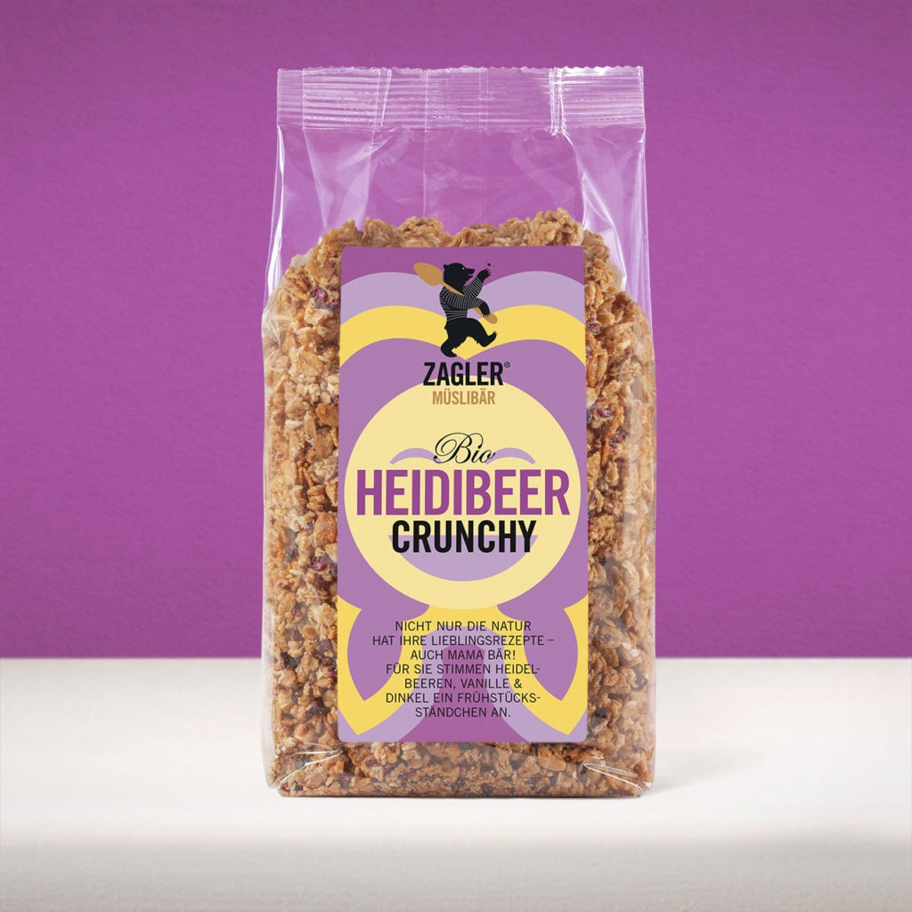 Bio Heidibeer Crunchy Müsli