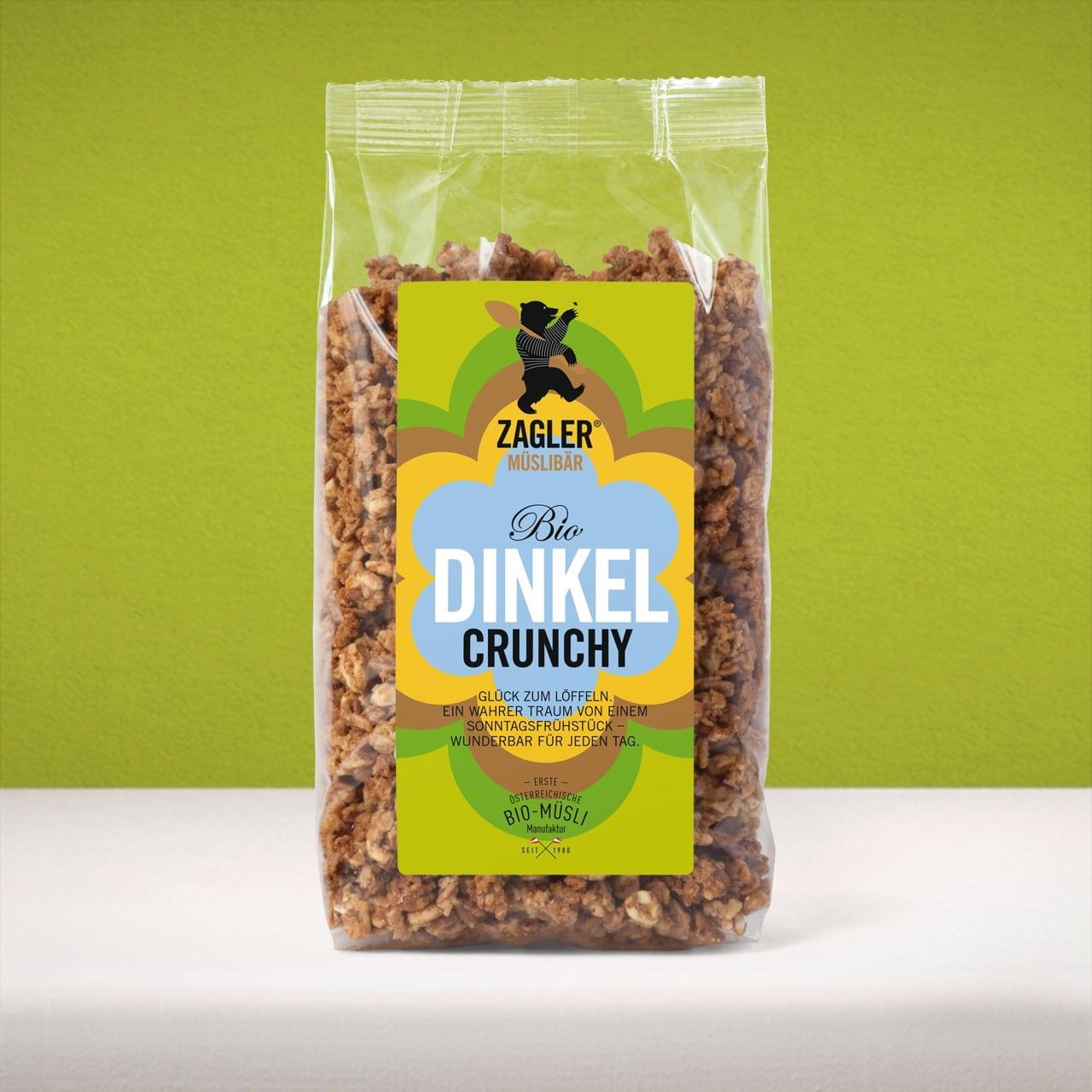 Bio Dinkel Crunchy muesli