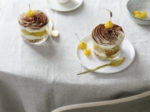 Apfel Honigmüsli Tiramisu